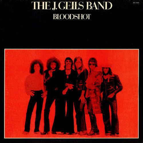 J. Geils Band Bloodshot - vinyl LP