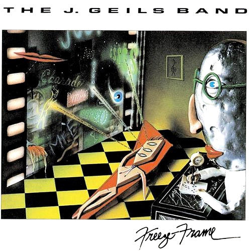 J. Geils Band Freeze Frame - vinyl LP