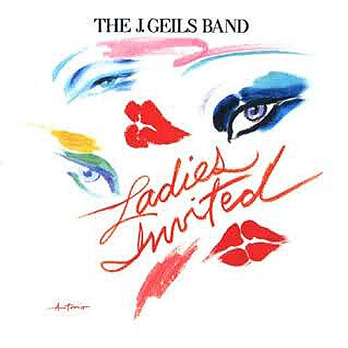 J. Geils Band Ladies Invited - vinyl LP