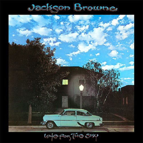 Jackson Browne Late For The Sky - vinyl LP