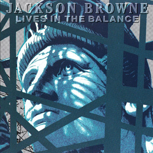 Jackson Browne Lives In The Balance - vinyl LP