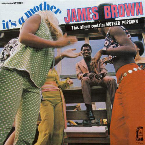James Brown It's A Mother - vinyl LP
