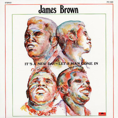 James Brown It's A New Day Let A Man Come In - vinyl LP