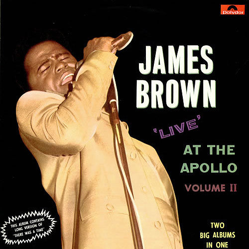 James Brown Live at The Apollo Volume 2 - vinyl LP