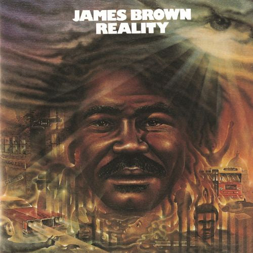 James Brown Reality - vinyl LP
