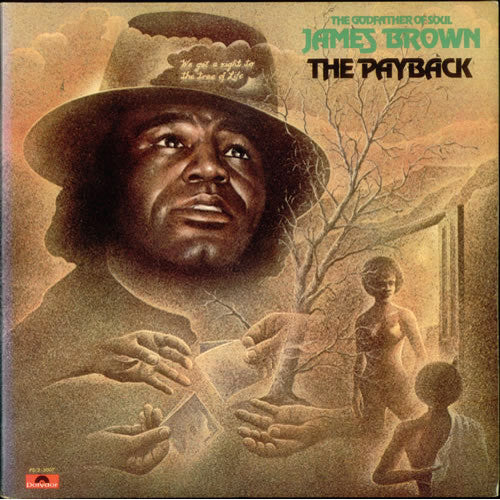 James Brown The Payback - vinyl LP