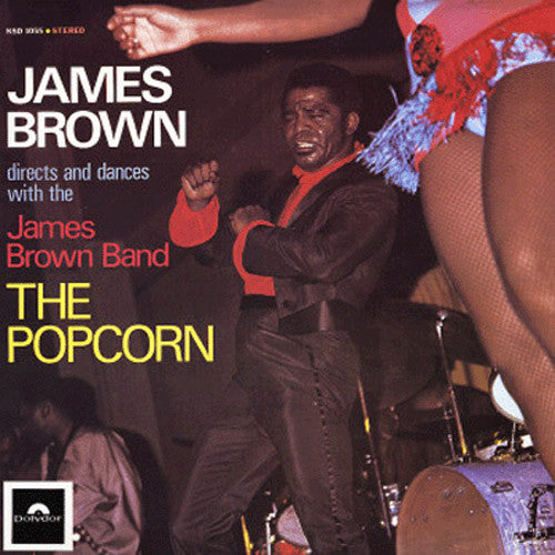 James Brown The Popcorn - vinyl LP