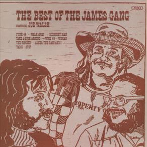 James Gang The Best of Featuring Joe Walsh - vinyl LP