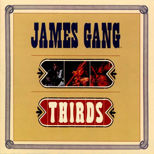 James Gang Thirds - vinyl LP