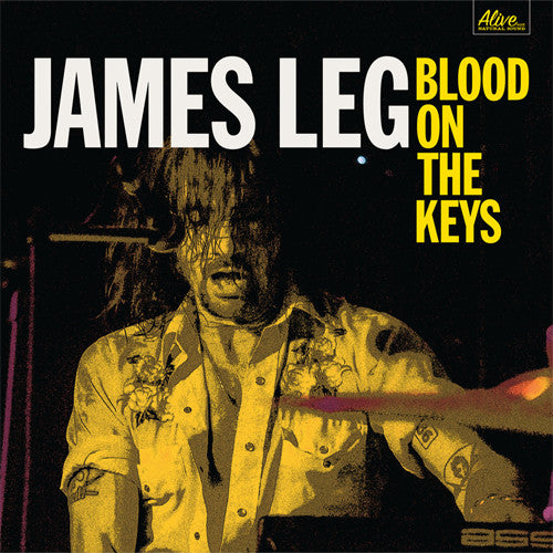 James Leg Blood On The Keys - vinyl LP