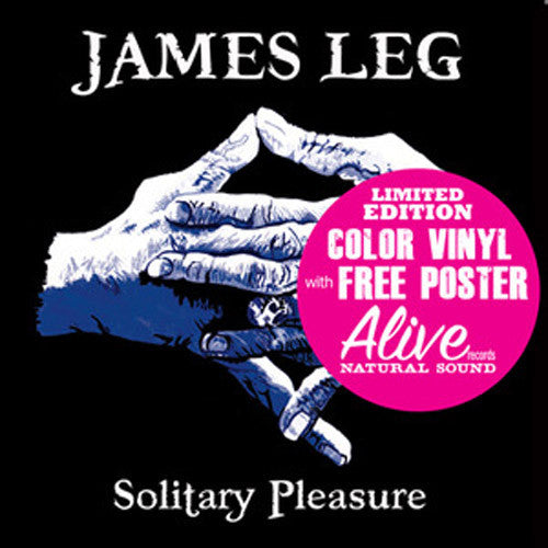 James Leg Solitary Pleasure - vinyl LP