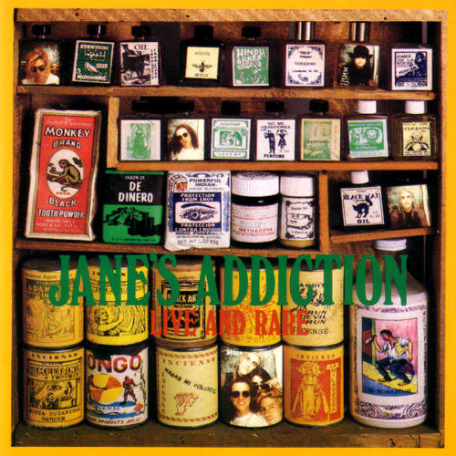 Janes Addiction Live and Rare - compact disc