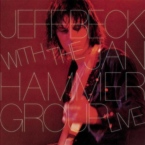 Jeff Beck with The Jan Hammer Group Live - vinyl LP