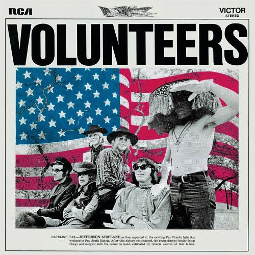 Jefferson Airplane Volunteers - vinyl LP