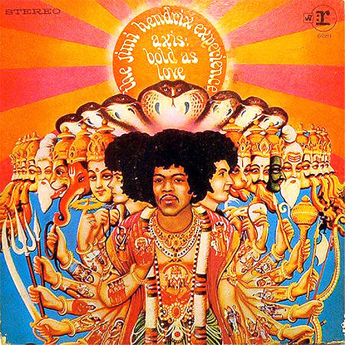 Jimi Hendrix Axis Bold As Love - vinyl LP