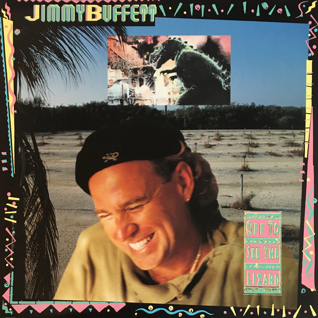Jimmy Buffett Off To See The Lizard - vinyl LP