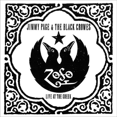 Jimmy Page & The Black Crowes Live at The Greek - compact disc