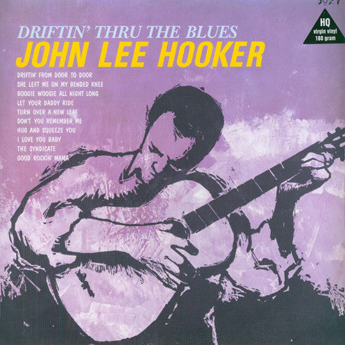 John Lee Hooker Driftin' Thu The Blues - vinyl LP