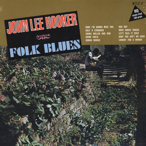 John Lee Hooker Folk Blues - vinyl LP