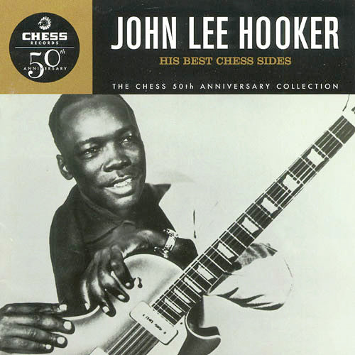 John Lee Hooker His Best Chess Sides - compact disc
