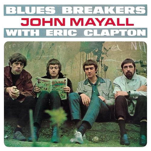 John Mayall and the Blues Breakers with Eric Clapton - vinyl LP