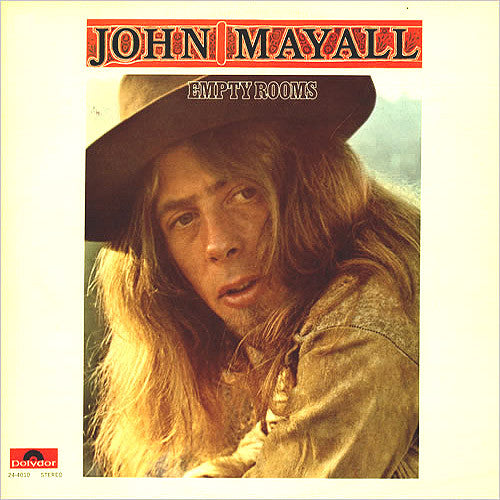 John Mayall Empty Rooms - vinyl LP