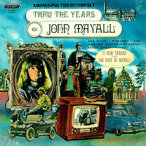 John Mayall Thru The Years - vinyl LP