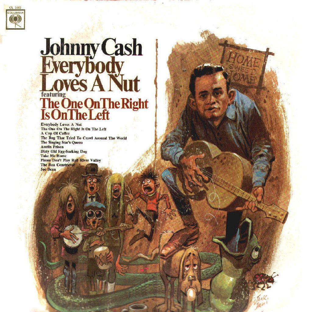 Johnny Cash Everybody Loves A Nut - vinyl LP