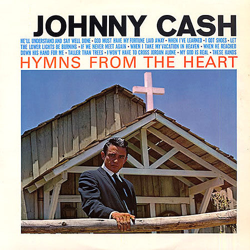 Johnny Cash Hymns From The Heart - vinyl LP