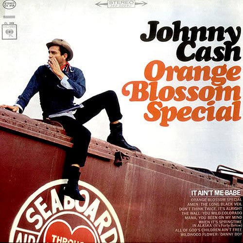 Johnny Cash Orange Blossom Special - vinyl LP