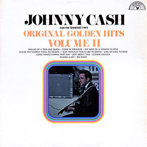 Johnny Cash Original Golden Hits Volume II - vinyl LP