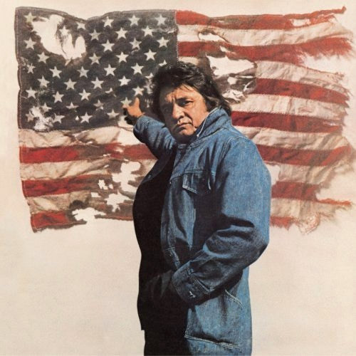 Johnny Cash Ragged Old Flag - vinyl LP