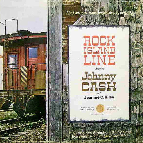 Johnny Cash and Jeannie C. Riley Rock Island Line - vinyl LP