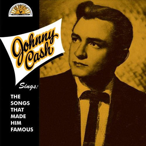 Johnny Cash Sings The Songs That Made Him Famous - vinyl LP