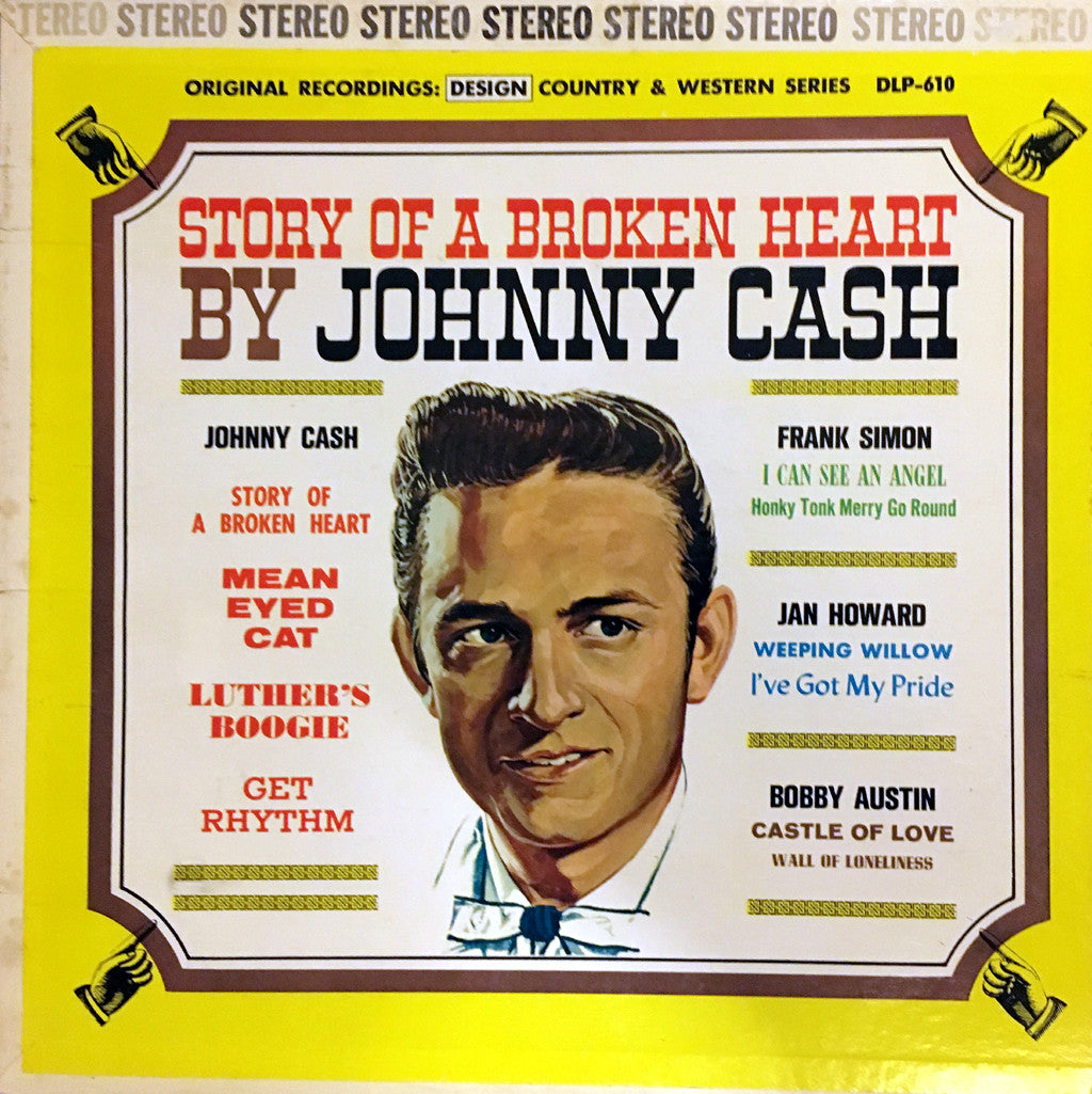 Johnny Cash The Story of A Broken Heart by Johnny Cash - vinyl LP
