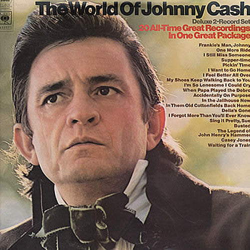 Johnny Cash The World of Johnny Cash - vinyl LP