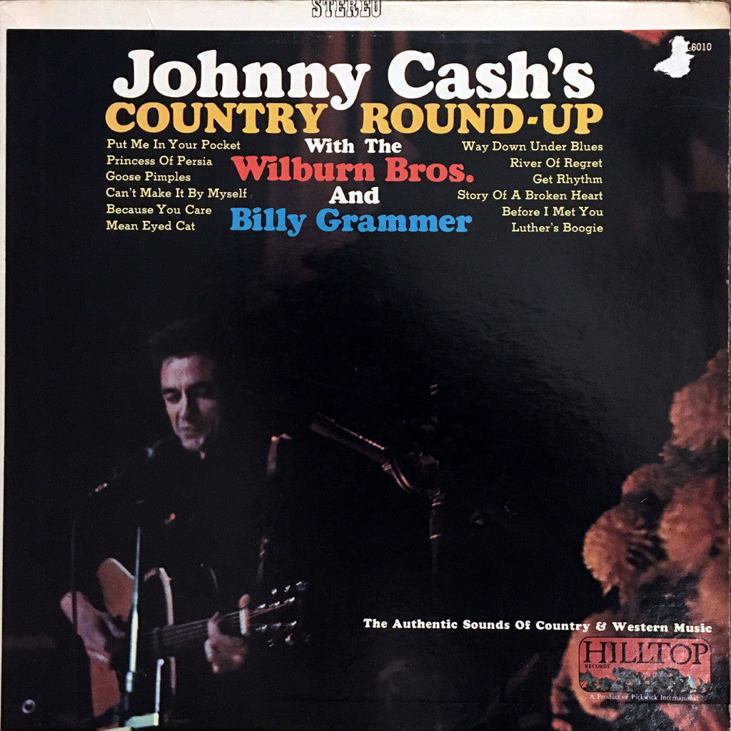 Johnny Cash's Country Roundup - vinyl LP