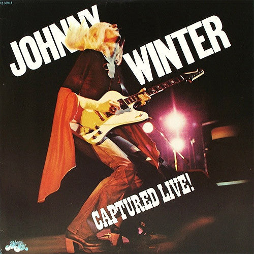 Johnny Winter Captured Live! - vinyl LP