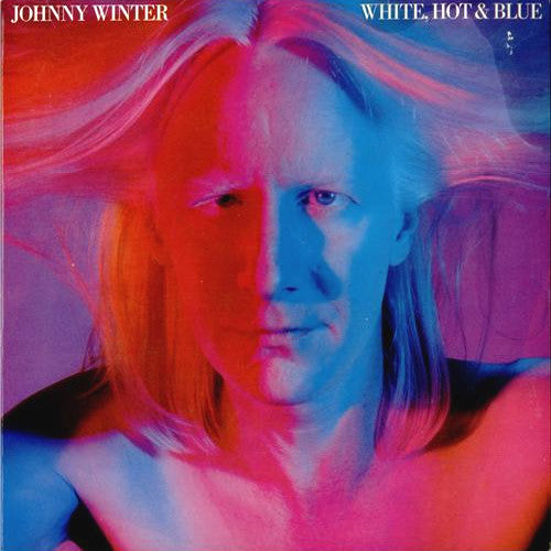 Johnny Winter White Hot & Blue - vinyl LP