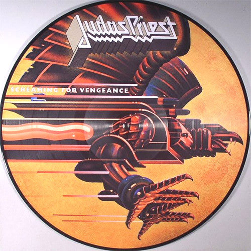 Judas Priest Screaming For Vengeance - picture LP