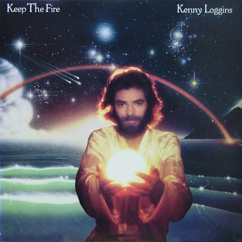 Kenny Loggins Keep The Fire - vinyl LP