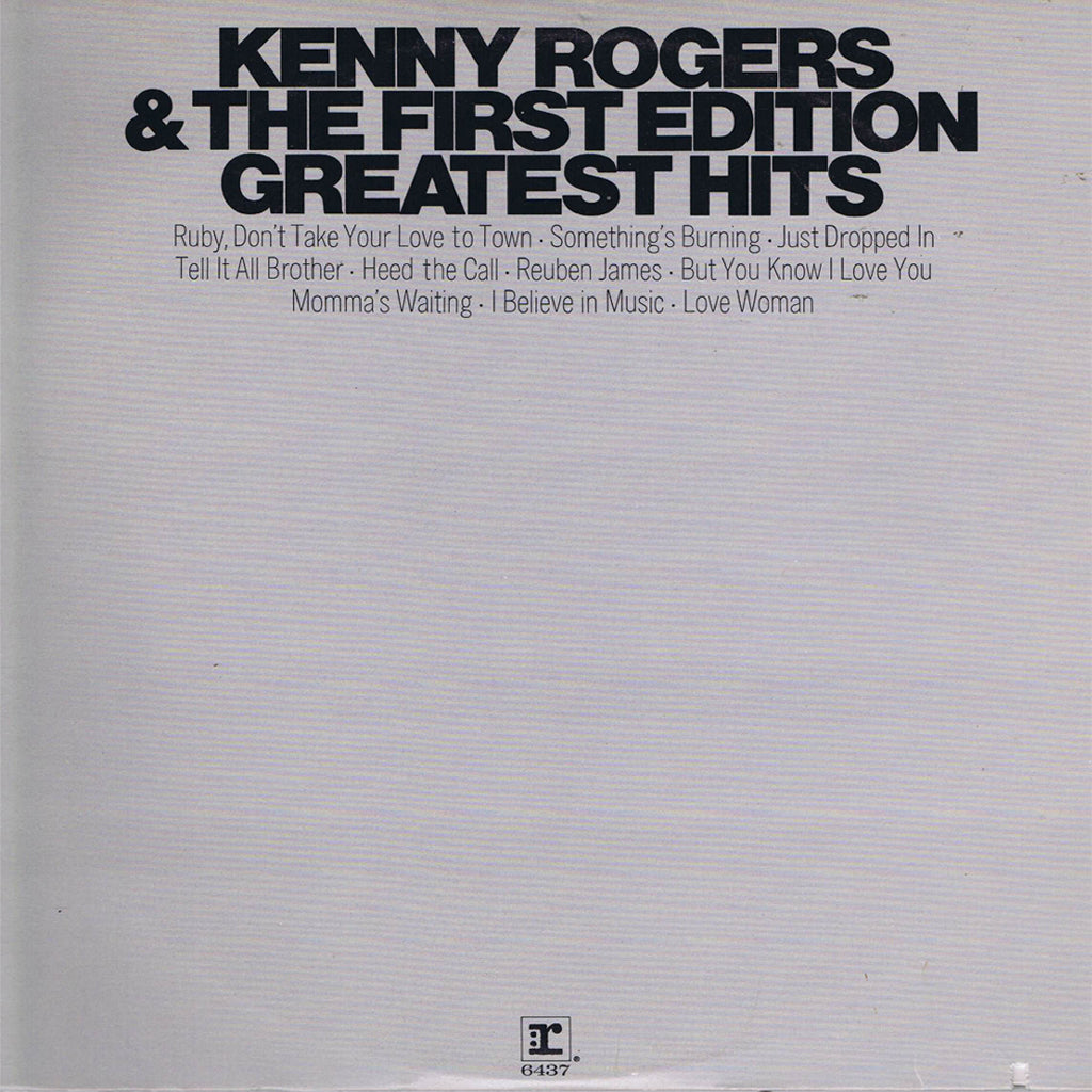 Kenny Rogers & The First Edition Greatest Hits - vinyl LP
