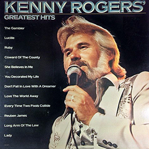 Kenny Rogers Greatest Hits - vinyl LP