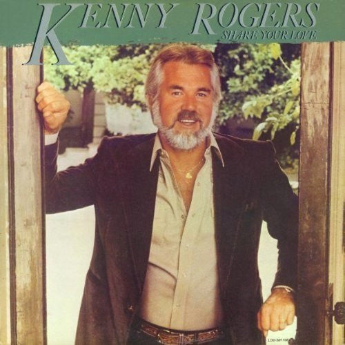 Kenny Rogers Share Your Love - vinyl LP