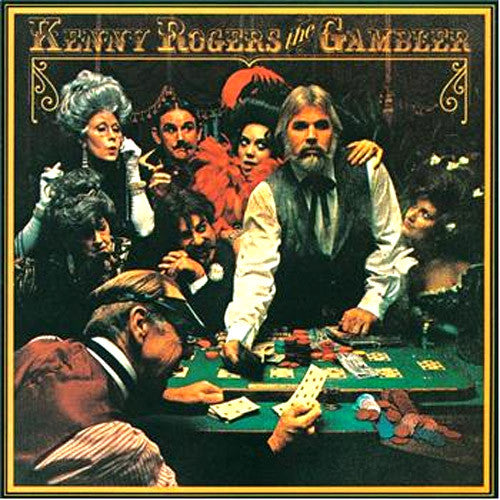 Kenny Rogers The Gambler - vinyl LP