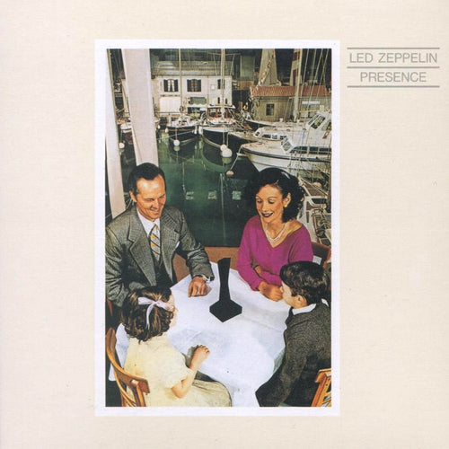 Led Zeppelin Presence - vinyl LP
