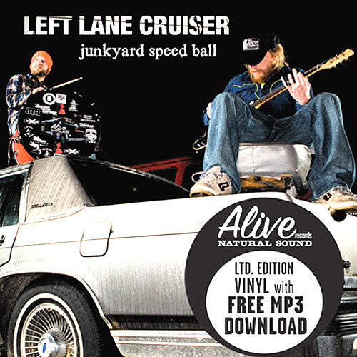 Left Lane Cruiser Junkyard Speedball - vinyl LP