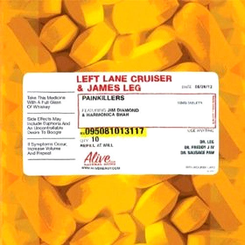 Left Lane Cruiser & James Leg Painkillers - vinyl LP