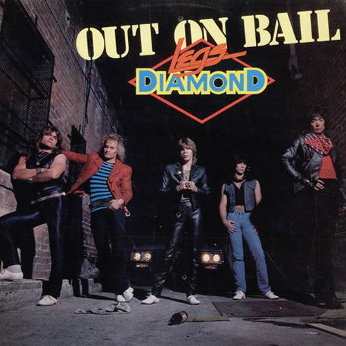 Legs Diamond Out On Bail - vinyl LP