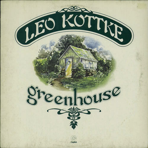 Leo Kottke Greenhouse - vinyl LP